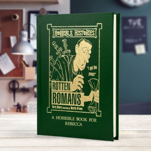 Horrible Histories Rotten Romans Book